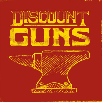 EP - DISCOUNT GUNS cover art