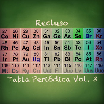 Tabla Periódica Vol. 3 cover art