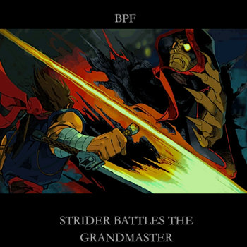 Strider Battles The Grandmaster cover art