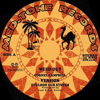 Weed Out - Crornel Campbell / Ranking Joe / Zvuloon Dub System cover art