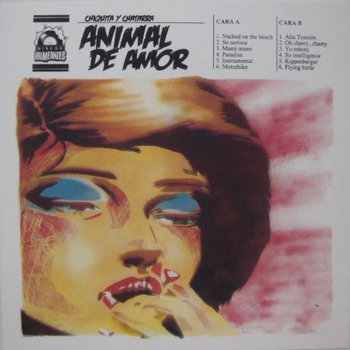 Chiquita y Chatarra &quot;Animal de Amor&quot; cover art