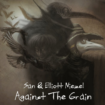 "San & Elliott Niezel ""Against the Grain"" LP cover art"