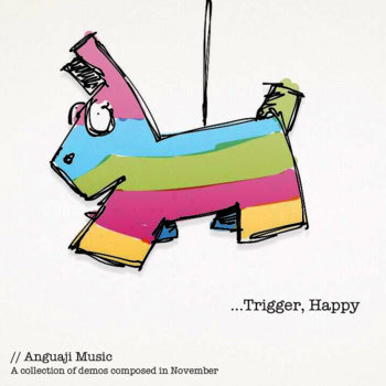 Trigger, Happy { the demos } cover art