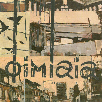 D13 - DIMLAIA &quot;Self Titled&quot; LP cover art