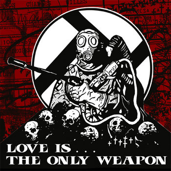 (A389-054) INTEGRITY/CREEPOUT Love Is The Only Weapon cover art