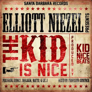 """The Kid Is Nice"" EP cover art"