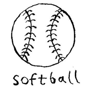 Softball cover art