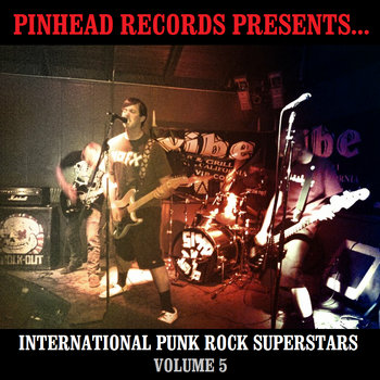 International Punk Rock Superstars Vol. 5 cover art