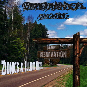 """Camp Resorvation"" LP cover art"