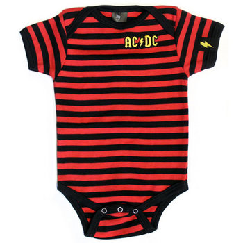 AC/DC Striped Onesie cover art