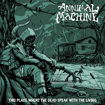 This place where the dead speak with the living cover art