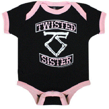 Twisted Sister - Onesie - 6-12M cover art
