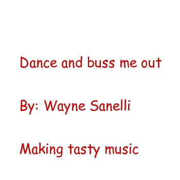 Dance buz me out cover art