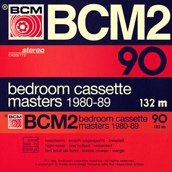 Bedroom Cassette Masters 1980-89 Volume Two cover art