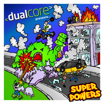 Super Powers cover art