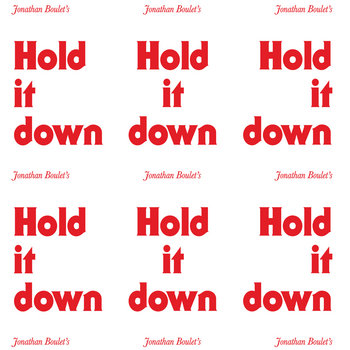 Jonathan Boulet 'Hold It Down' cover art