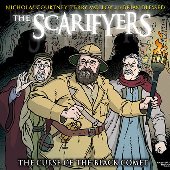 The Scarifyers: The Curse of the Black Comet cover art