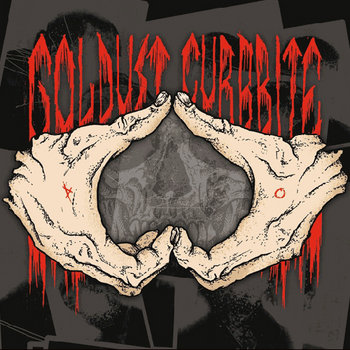 "Goldust/Curbbite - Split 7"" cover art"