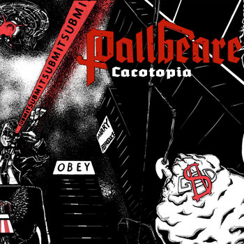Cacotopia/Pallbearer E.P. cover art
