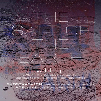 The Salt of the Earth, Shostakovich and Rzewski cover art
