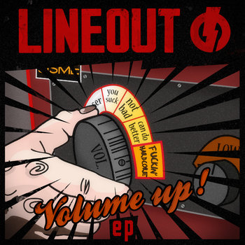 """VOLUME UP!"" EP 2012 cover art"