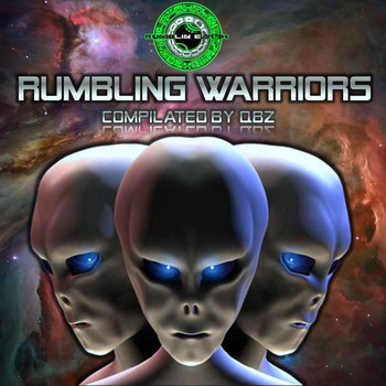 Rumbling Warriors Vol.1 cover art