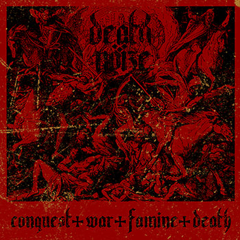 Conquest War Famine Death cover art