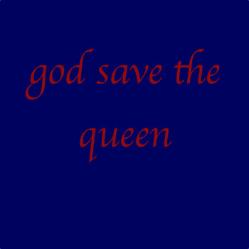 god save the queen cover art