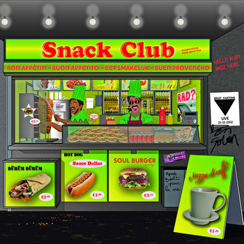 Snack Club International EP cover art