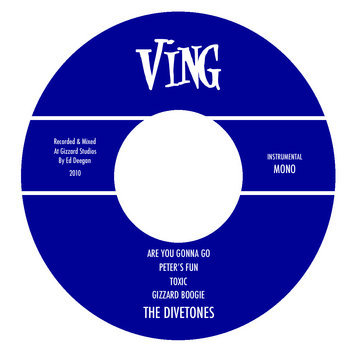 The Divetones EP cover art
