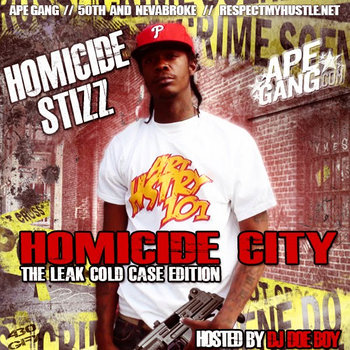 Homicide City: The Cold Case Files cover art
