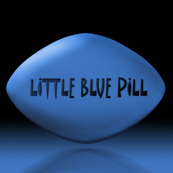 Viagra little blue pill
