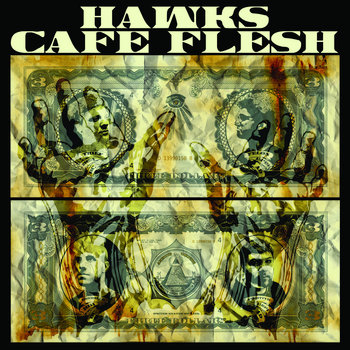 "Double 7in"" Spilt w/Café Flesh cover art"