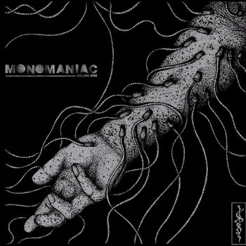 "V/A ""Monomaniac vol.1"" 7""EP [BB011] cover art"