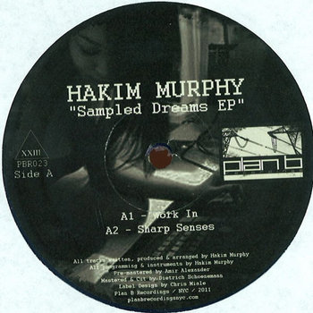 &quot;Sampled Dreams EP&quot; - Hakim Murphy (Vinyl Only) cover art