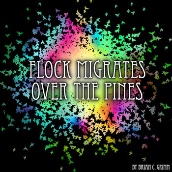 FLOCK MIGRATES OVER THE PINES cover art