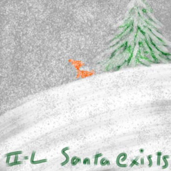 Santa exists cover art