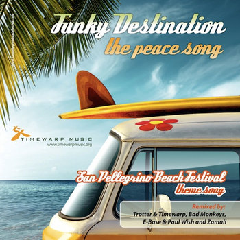 Funky Destination - The Peace Song cover art