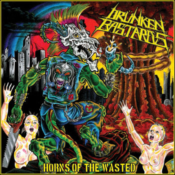 Horns Of The Wasted cover art
