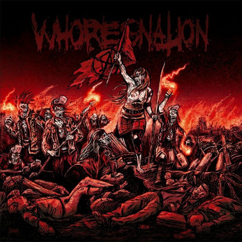 Whoresnation cover art