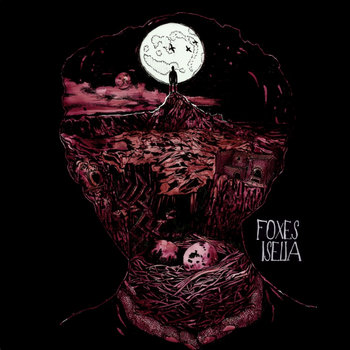 DK028: Foxes / Iselia - Split 12&quot; LP cover art