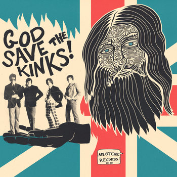 NR!-001: God Save the Kinks cover art