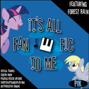 It's All Fanfic To Me cover art