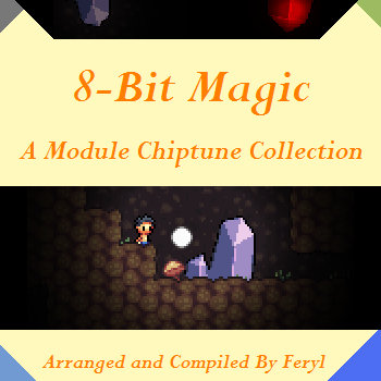 8-Bit Magic: A Module Chiptune Collection cover art