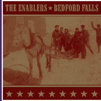 "Bedford Falls/The Enablers Split 7"" cover art"