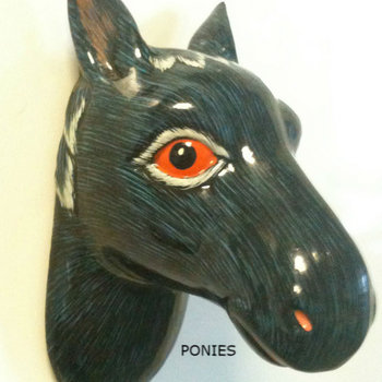 PONIES - Remixes cover art