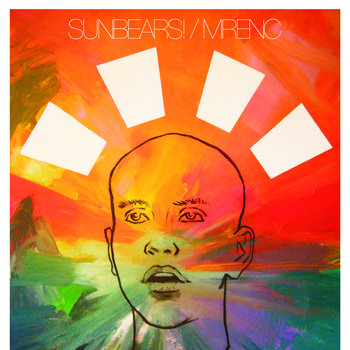 "Sunbears!/MRENC split 7"" cover art"