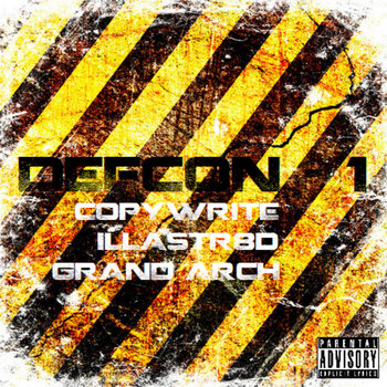 DEFCON-1 Feat. Illastr8ed, Copywrite and Grand Architect cover art