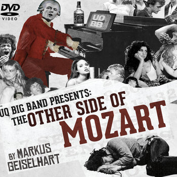 UQ Big Band: the other side of mozART cover art