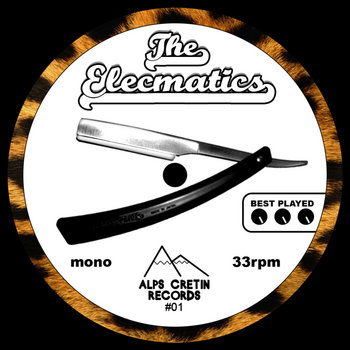 The Elecmatics (EP) cover art